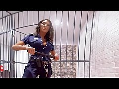 VR PORN-August Ames Get fucked hard in prison