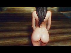 Skyrim naked girls(slide show)