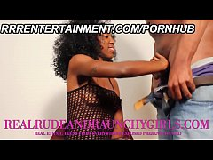 Amateur Black Teen Does Her First Bukkake In Fi...