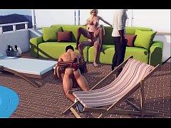 3D Porn Game - 3DXChat Big Sex Party