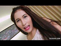 TGirl Bhoom's solo video