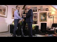 Older stockings brit fuck