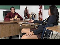 Asian school girl teen fucks her teacher after ...