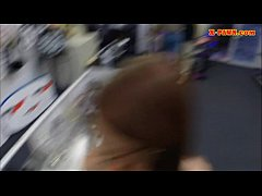 Amateur girl pounded at the pawnshop for a diam...