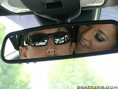 Big Tits at Work - Driving Miss. Bitoni