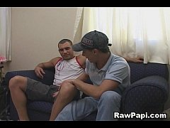 Hot And Steamy Latino Bareback Scene