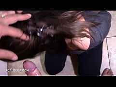Handcuffed gagging blowjob -Azzurra