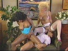 Ebony Ayes Threesome