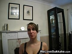 Louise homemade Bukkake