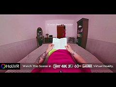 [HoliVR] World Best Stepsister Midnight Blowjob   360 VR Porn