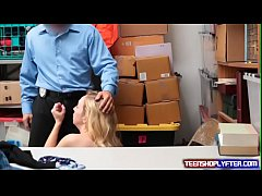 Teen Zoe Parker get dealt with and  set straigh...