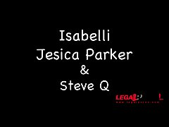Isabelli & Jessica Parker classic threesome HG023