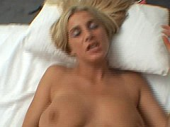 Blonde horny for some cock