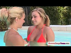 Teen Kennedy Leigh shares bf with hot cougar