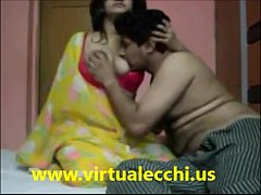 Indian hot girl enjoying honeymoon