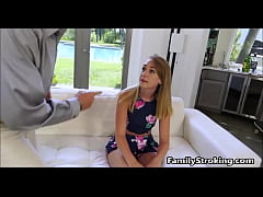 Step Dad Punishes Teen Daughter -  FamilyStroking.com