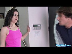 Addie Juniper makes him blow his load