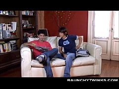 Two Horny Twink Steamy Gay Sex