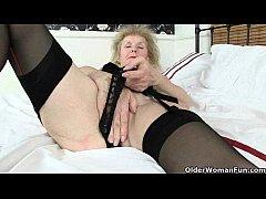British grannies Amanda Degas and Pearl work th...