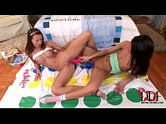 Horny, barely legal girls enjoy sapphic sex wit...
