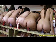 Tasty College Sluts Take Part In Naughty Dildo ...