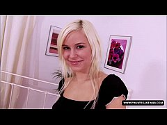 Shooting a teen casting with Lola