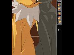 Umbreon Fucking Jolteon - Pokemon rule34 animation