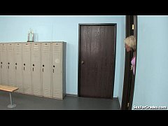 Teen Slut Gets Fucked In The Locker Room