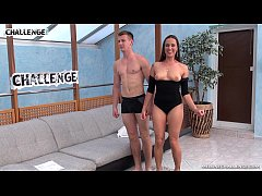Melonechallenge - Young muscle guy try best in big pornstar orgy with Mea Melone