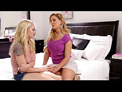 Step-mother Cherie DeVille Licking Alli Rae's P...