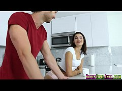 Brads fucks Eden Sinclair doggystyle with his b...