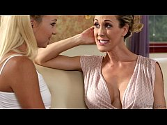 Busty Step-Mother Brandi Love and Carmen Callaway