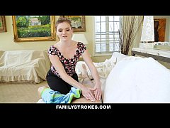 FamilyStrokes- Step-Sis Obsessed With Older Brother