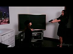 Panty-thief gets a lesson - Jenna Sativa, Angela White