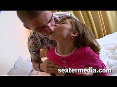 Teenie Little Emma and the Big Penis