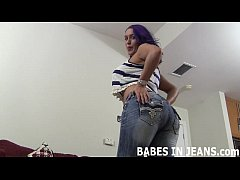 Let me shake my ass in tight jeans for you JOI