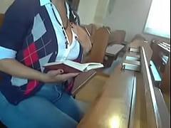 Masturbating In Church