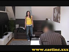 Casting - Creampie shocker for new model