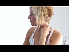 Horny Blonde Kate England Makes Her Man Cum - E...
