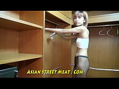 Slender Media Hairdo In Thailand Closet