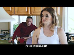 punishteens - evangelical uncle trains his misbehaved niece