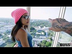 Petite Ebony Babe Gets Pounded video starring Nicole Bexley - Mofos.com