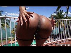 Big Tits Ebony Queen Katt Garcia Receives Anal ...
