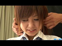 Miku Airi is a hot schoolgirl in need for a mat...