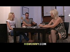 guy leaves his girlfriend toying his mom