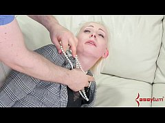 Office lady taught a brutal anal lesson