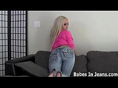 These tight jeans will get you nice and hard JOI