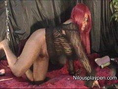 Watch Me Cum #4  : Creampie Webcam Dildo Show