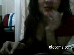 Indian teen masturbating on webcam - otocams.com