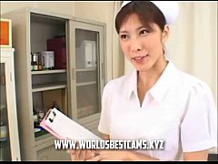 Hot Japanese Nurse Gave BJ And Cum In Her Mouth...